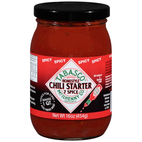 Tabasco ® Brand Spicy Chili Starter
