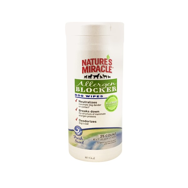 Nature's Miracle Allergen Blocker Wipes