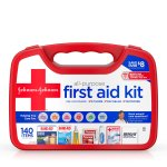 Johnson & Johnson Red Cross All Purpose First Aid Kit