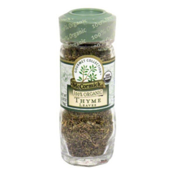McCormick Gourmet Collection Organic Thyme