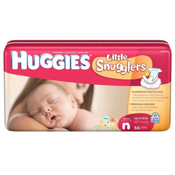 Huggies Little Sngglers New Born Big Pack
