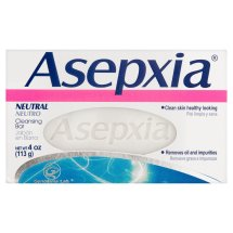 Genomma Lab. Asepxia Neutral Cleansing Bar, 4 oz