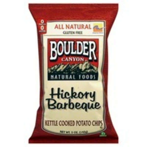 Boulder Canyon Hickory Bbq Chips