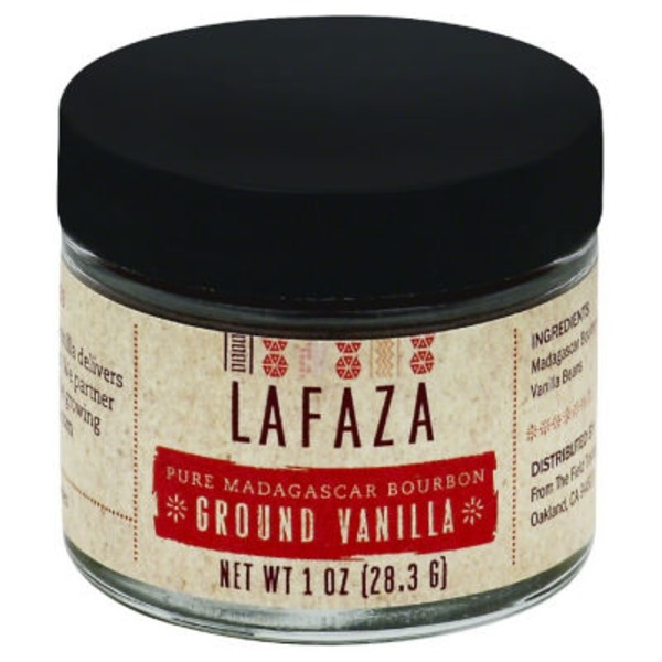 Lafaza Vanilla, Ground, Pure Madagascar Bourbon