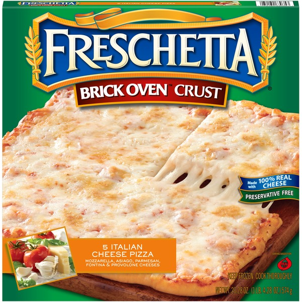 Freschetta Brick Oven Crust 5 Italian Cheese Pizza