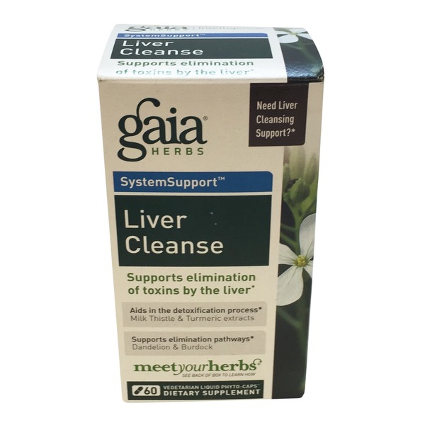 Gaia Herbs SystemSupport Liver Cleanse Capsules