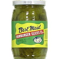 Best Maid Pickles Slice Hamburger
