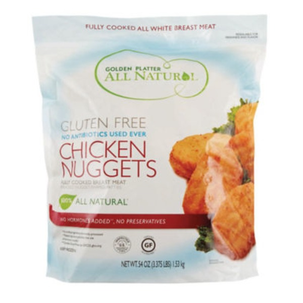 Golden Platter Gluten Free Chicken Nuggets