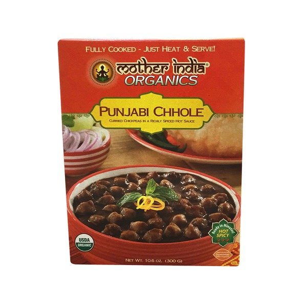 Mother India Punjabi Chhole, Hot Spicy