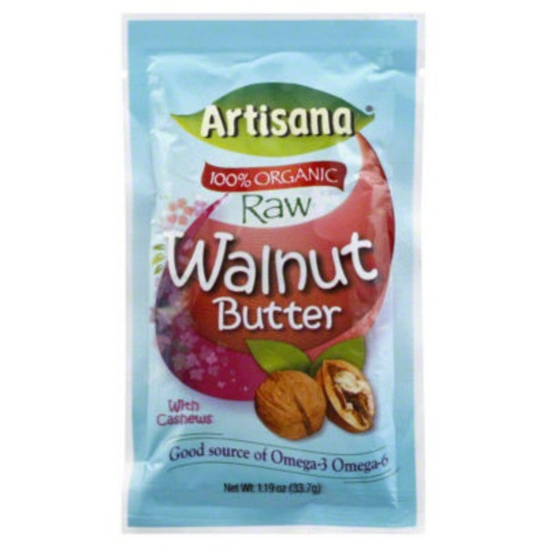 Artisana Walnut Butter, Raw, with Cashews