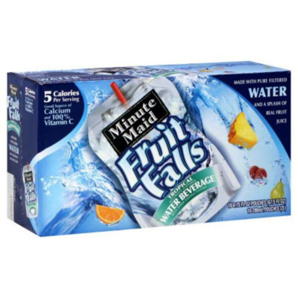 Minute Maid Fruit Falls Tropical Water Beverage