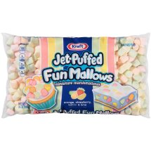 Kraft Jet-Puffed Marshmallows Funmallows Miniature, 10 Oz