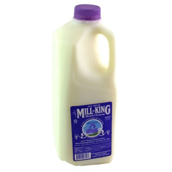Mill King Reduced Fat 1% Milk