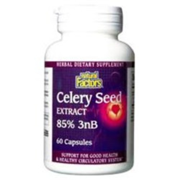 Natural Factors Celery Seed Extract Capsules