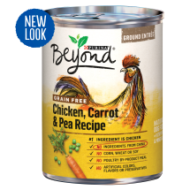 Purina Beyond Grain-Free Chicken Carrot & Pea Recipe Ground Entree Adult Wet Dog Food - 13 oz. Can
