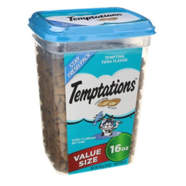 Temptations Tempting Tuna Flavor Treats for Cats