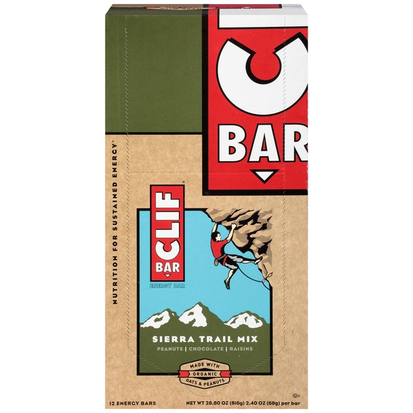 Clif Bar® Sierra Trail Mix Energy Bars