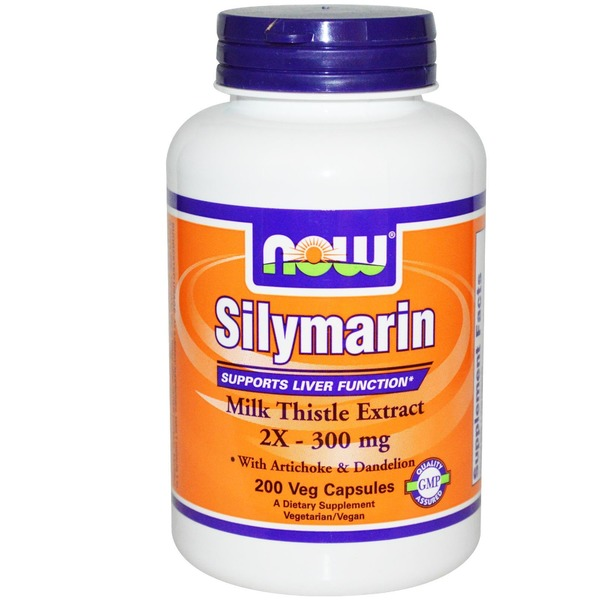 Now Silymarin 2 X 300 Mg