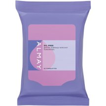 Almay Oil-Free Makeup Remover Face Towelettes, 25 Cts