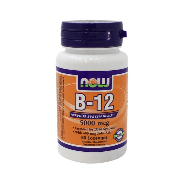 Now B 12 Nervous System Health 5000 Mcg