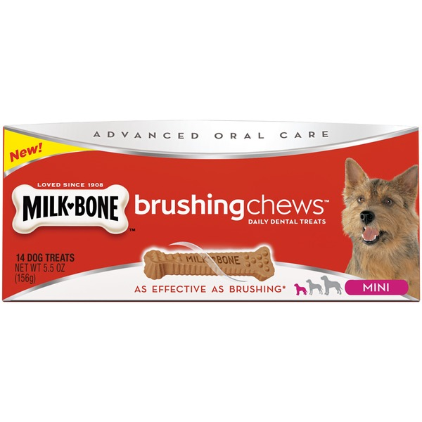 Milk-Bone Brushing Chews Daily Dental Treats - Mini Dog Treats