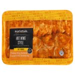 Marketside Hot Wing Style Dry Rubbed Chicken Wing Sections, 1.45-2.25lbs