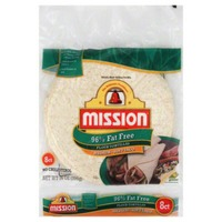 Mission 95% Fat Free Medium Soft Taco Whole Wheat Tortillas