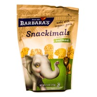 Snackimals Cookies Snackimals Organic Oatmeal Cookies
