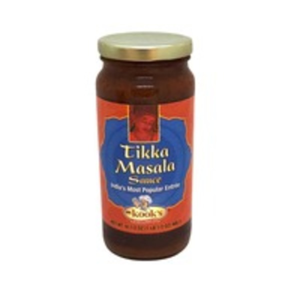 Mr. Kook's Simmer Sauce, Tikka Masala, Medium Spicy