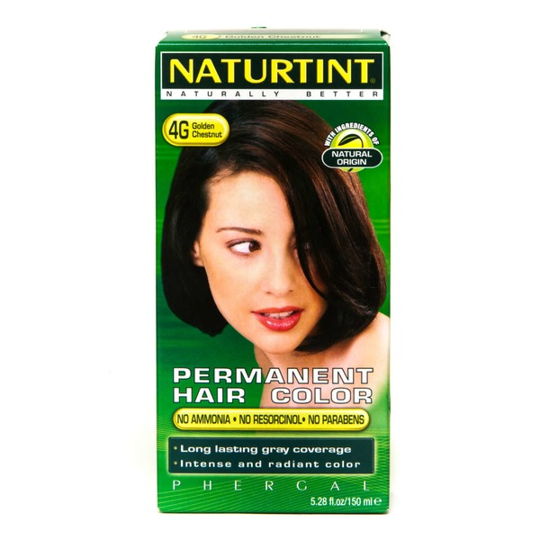 Naturtint Permanent Hair Color - Golden Chestnut 4G