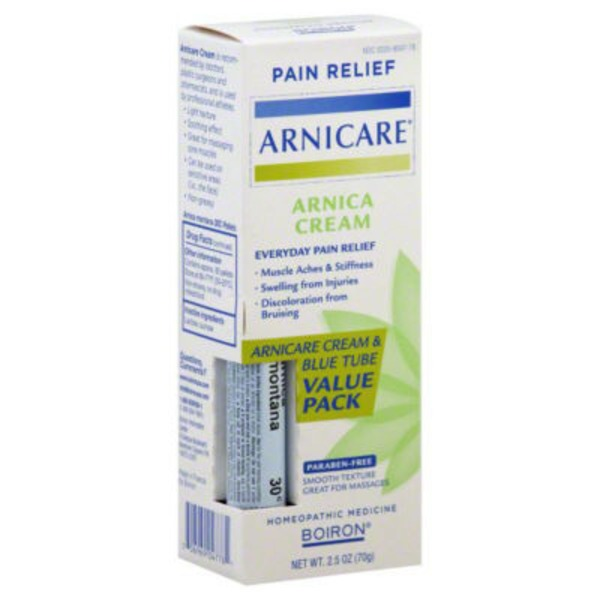 Arnicare Topical Cream & Oral Pellets Pain Relief