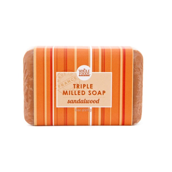 Whole Foods Market Sandlewood Triple Milled Soap Bar