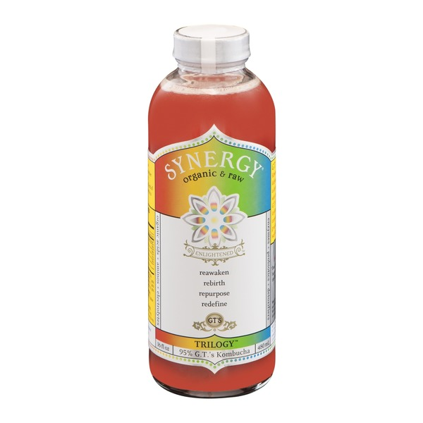 GT's Enlightened Synergy Organic Trilogy Raw Kombucha