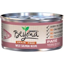 Purina Beyond Grain Free Wild Salmon Recipe Pate Cat Food 3 oz. Can