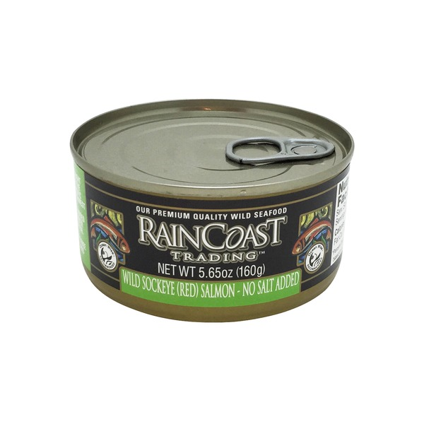Rain Coast Trading Wild Sockeye Salmon No Salt Added