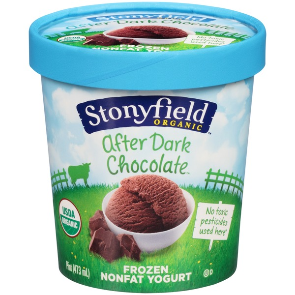 Stonyfield Organic Nonfat After Dark Chocolate Organic Frozen Yogurt