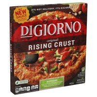 DiGiorno Rising Crust Supreme (Sausage, Pepperoni, Red Peppers, Green Peppers, Onions, Black Olives) Pizza