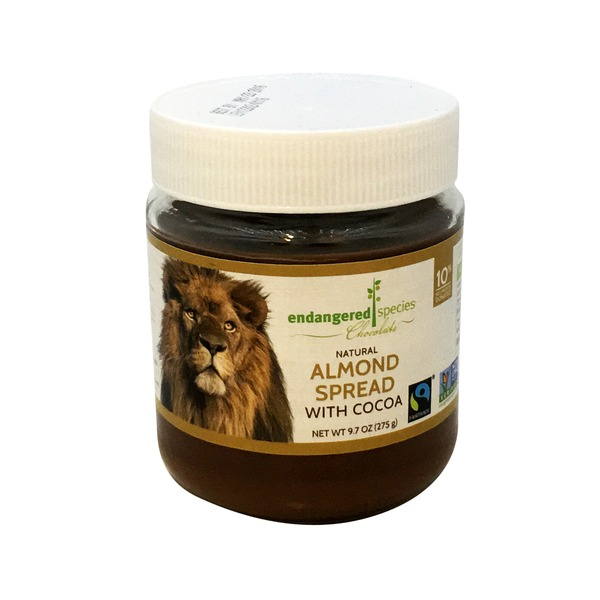 Endangered Species Almond Spread with Cocoa