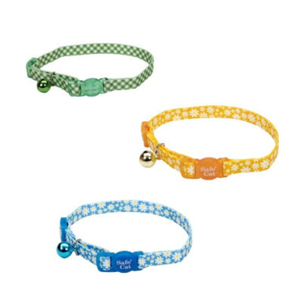 Coastal Pet 3/8 Inch Cat Collar Assortment
