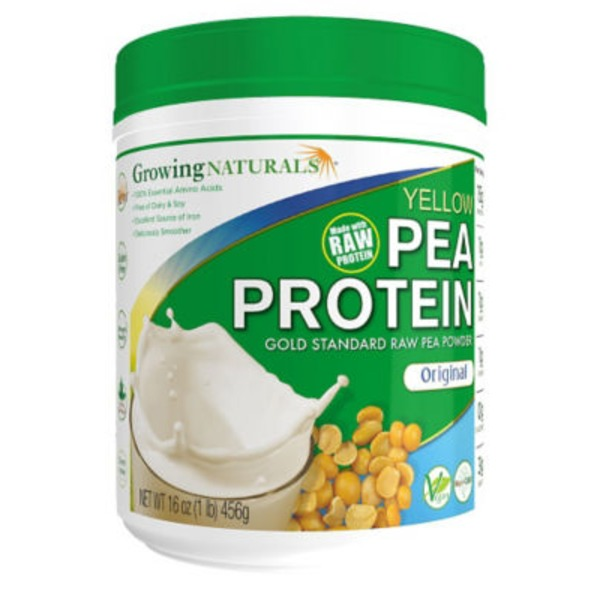 Growing Naturals Yellow Pea Protein Original