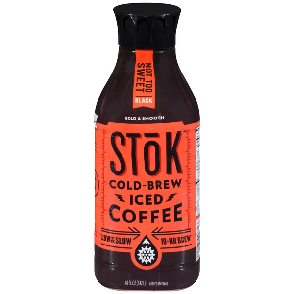 Stok Not Too Sweet Black Cold-Brew Iced Coffee