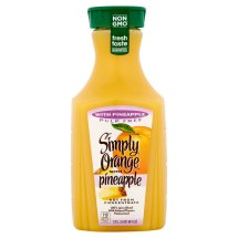 Simply Orange with Pineapple Juice Blend, 59 fl oz