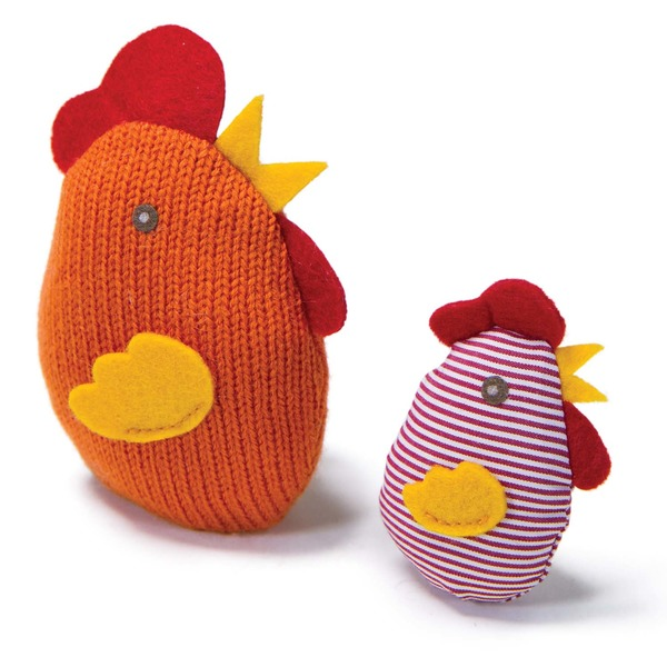 Wws Md Knit Nips Chicken&Chick