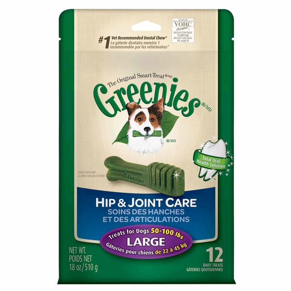 Greenies Large Hip & Joint Care Dog Treats