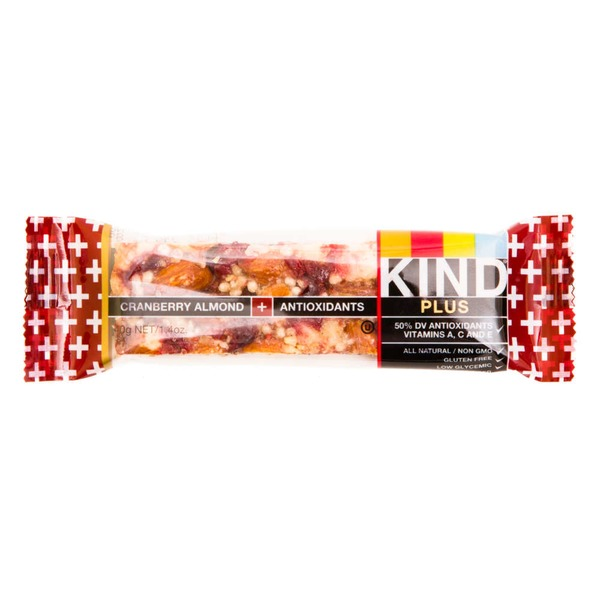 KIND Plus Cranberry Almond & Antioxidants Bar