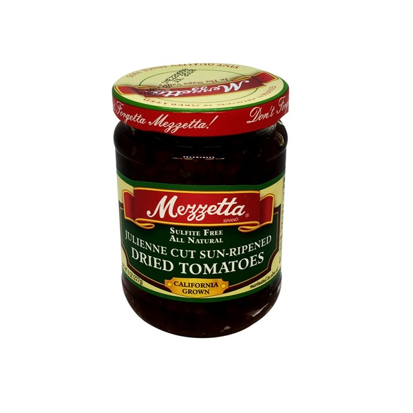 Mezzetta Julienne Sun Dried Tomato in Olive Oil