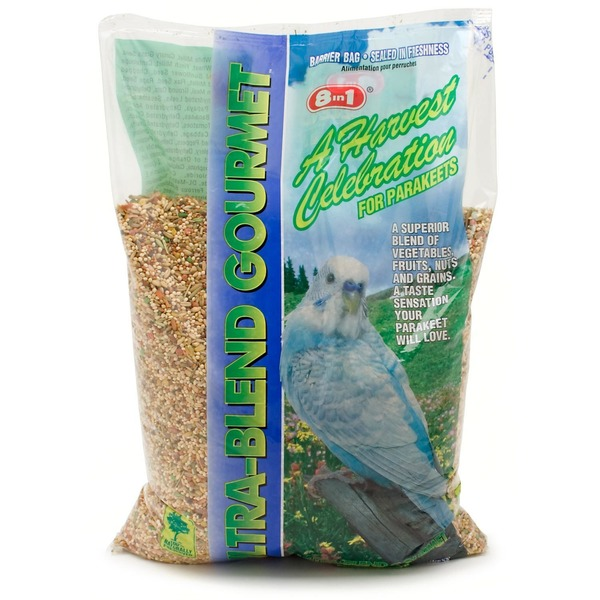 8 in 1 Ultra-Blend Gourmet Parrot Food