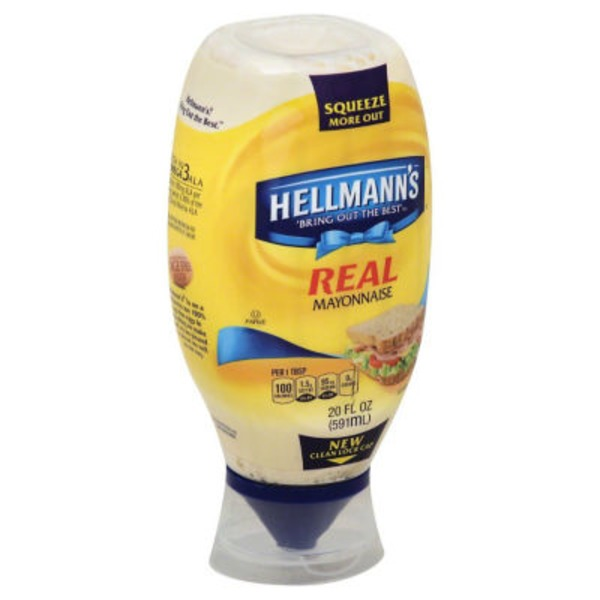 Hellmann's Squeeze Real Mayonnaise