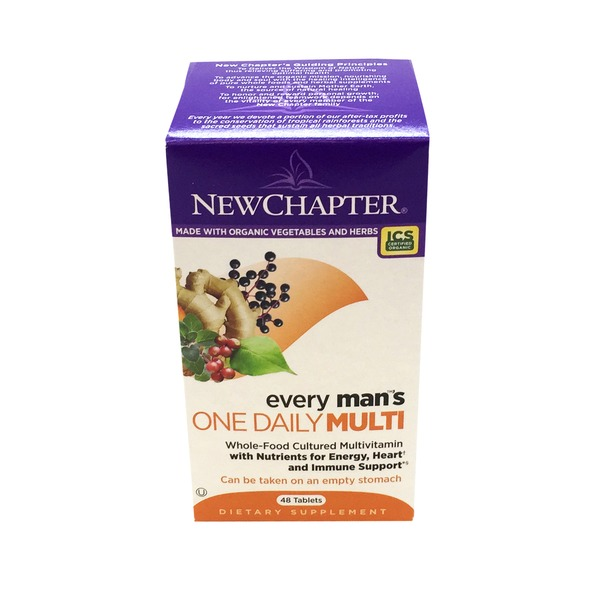 New Chapter Every Man's One Daily Tablet