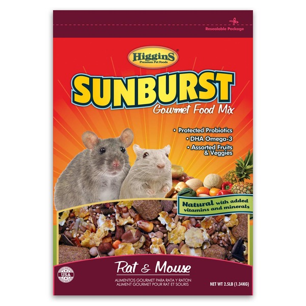 Higgins Sunburst Gourmet Food Mix Rat & Mouse